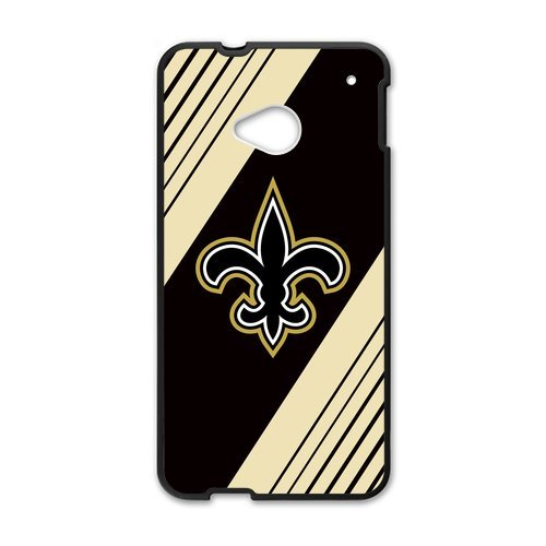 Fashion Design Sports Team New Orleans Saints Htc One M7 Shell Case Cover (Laser Technology)