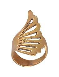 Metal Ring With Natural Unique Design