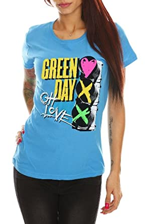 Green Day Oh Love Girls T-Shirt Size : X-Small