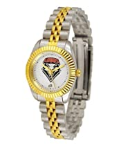 New Mexico Lobos UNM NCAA Womens 23Kt Gold Watch
