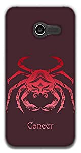 The Racoon Lean Cancer hard plastic printed back case / cover for Asus Zenfone 4 A400CG