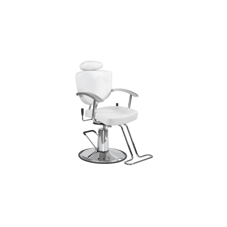 BestSalon® White Fashion All Purpose Hydraulic Recline Barber Chair Shampoo 67W