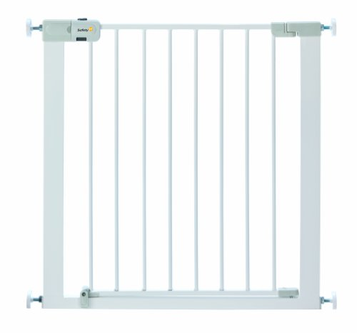 Safety 1st - Cancelletto Easy Close Metal, 73 - 80 cm, White, 24204310