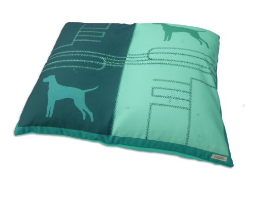 Teal Dog Bed Cover, Medium 33X25 front-42720