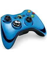 Manette sans fil pour Xbox 360 - Bleu Chromé