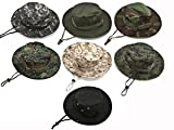 Uzzo Tactical Head Wear/Boonie Hat Cap For Wargame,Sports,Fishing &Outdoor Activties