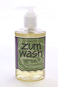 Zum Wash Natural Liquid Soap for Hands and Body Rosemary-Mint -- 8 fl oz