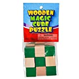 Rhode Island Novelty Wood Magic Cube Puzzle- 2 inches