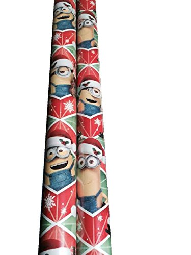 sc 1 st  Minion Toys & Gift Wrap ~ HOLIDAY MINIONS ~ Wrapping Paper - 1 ROLL