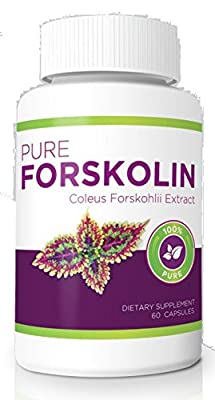 100% Pure Forskolin - Maximum Strength Fat Burner & Muscle Builder