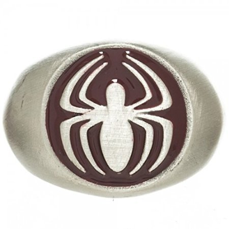 Marvel The Amazing Spider-Man Brushed Nickel Ring | 9.5 - 1