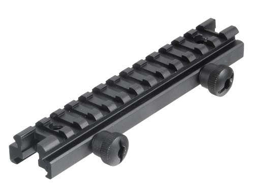 Utg Low Profile Riser Mount With 13 Slots