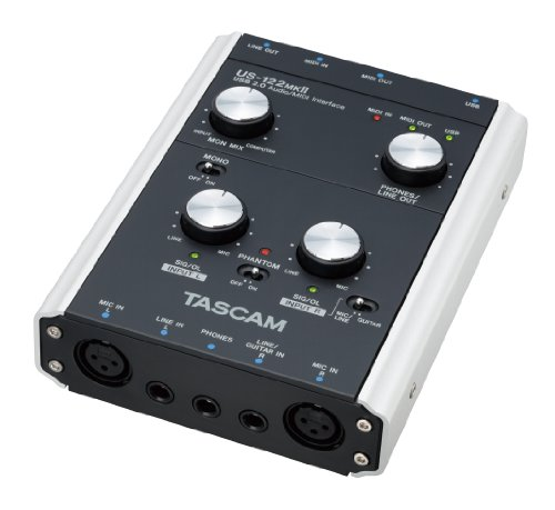 Tascam US 122 MK II USB Audio-Interface