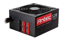 Antec High Current Gamer HCG-520M, 80 PLUS BRONZE, 520 Watt Modular Power Supply