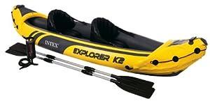 Buy Intex Explorer K2 Kayak, Yellow by Intex