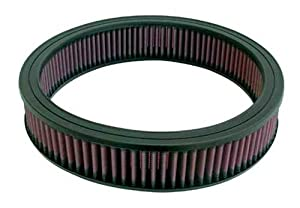 K&N Engineering Replacement Air Filter - 1982 - 1985 Oldsmobile Cutlass Ciera Brougham V6 - 3.0L vin E 181ci - 2BBL GAS OHV
