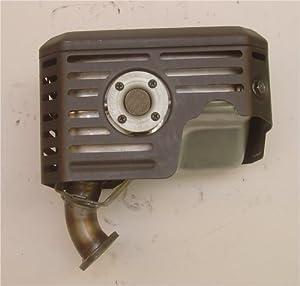 715127 MUFFLER, fits 9hp Vanguard, 185400 series Briggs & Stratton Engine Parts by Briggs