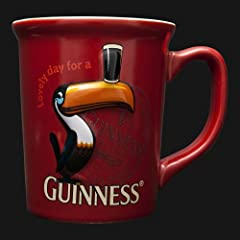 Guinness Toucan Red Mug