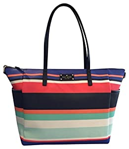 Kate Spade Wellesley Printed Stripes Adaira Baby Bag Daiper Bag by Kate Spade New York