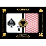 Copag Poker Size Dual Index Cards Playing Cards (Blue Red)