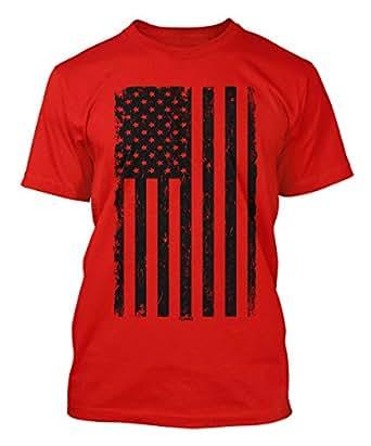 big black american flag s t shirt clothing