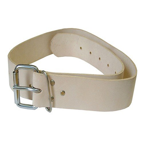 Faithfull LB134 Heavy-Duty Leather Belt 45mm