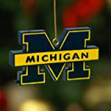 Michigan Wolverines 3D Logo Ornament-Michigan