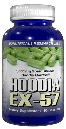 Hoodia - EX57 - 90 Capsules 1,000 mg 100% PURE and CERTIFIED South African Hoodia Gordonii Appetite Suppressant Weight Loss Diet Pills