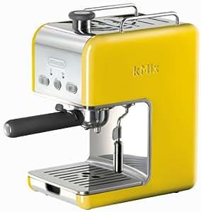 Delonghi Coffee Maker Yellow Light : Amazon.com: DeLonghi Kmix 15 Bars Pump Espresso Maker, Yellow: Semi Automatic Pump Espresso ...