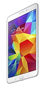Samsung Galaxy Tab 4 7-inch Tablet (White) - (Quad Core 1.2GHz, 1.5GB RAM, 8GB Storage, Wi-Fi, Bluetooth, 2x Camera, Android 4.4) by Samsung