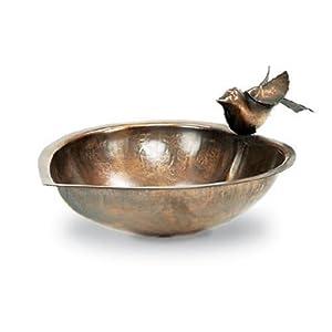 Achla Designs Heart Shaped Birdbath and Feeder