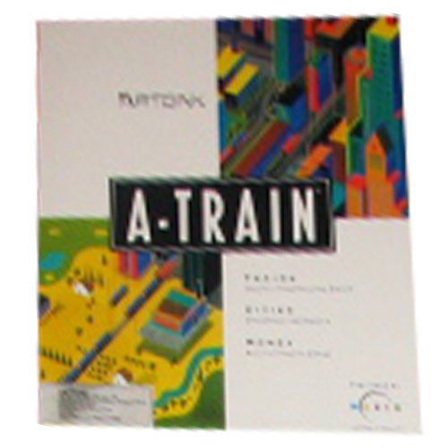 A-train Computer Game By Artdink and Maxis for Amiga Systems