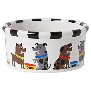 Signature Housewares Pooch Dog Bowl, Large