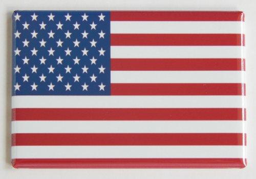 United States of America Flag Fridge Magnet (2 x 3 inches) (American Fridge Magnet compare prices)