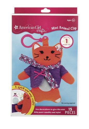 American Girl Crafts Mini Animal Clip, Cat