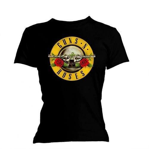 Guns N Roses Men's Classic Logo Short Sleeve