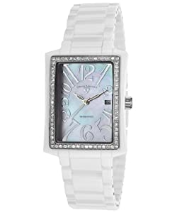 Swiss Legend Women's 10034D-WWSA Bella Analog Display Swiss Quartz White Watch