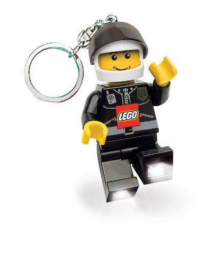 Lego City Key Light Police Officer