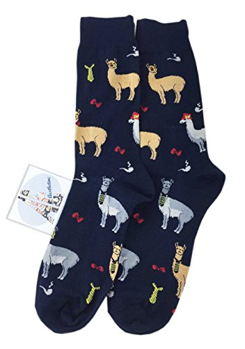 Men Fun Trendy Alpaca Socks