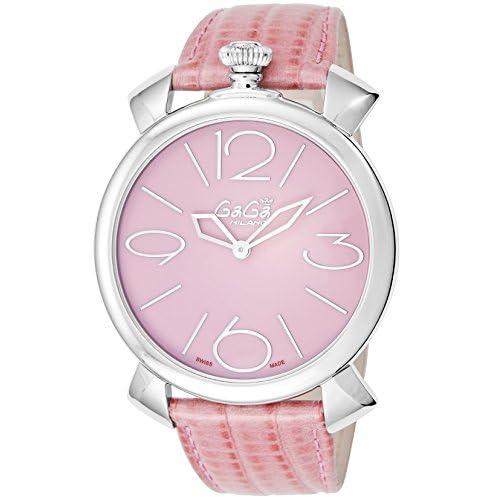 [ガガミラノ]GaGa MILANO 腕時計 MANUALE THIN46mm ピンク文字盤 5090.05 メンズ 【並行輸入品】