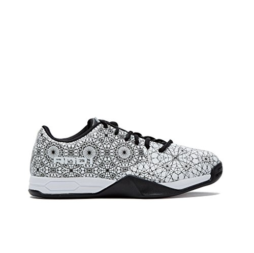 AND1 Mens Mirage Basketball Shoe 8 White/Black