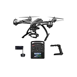 Yuneec TYPHOON G | 3 Axis Gimbal 25 Minutes Flight Aerial Videography Quadcopter for GoPro Hero 3 Hero 4 in Color Box