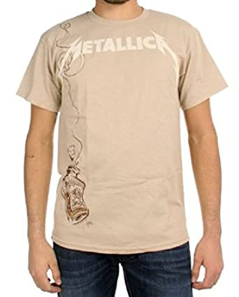 Metallica - Cyanide Warning Mens T-Shirt In Natural, Size: Small, Color: Natural