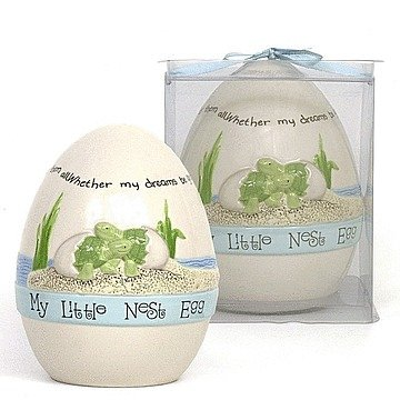 Child to Cherish Nest Egg - Blue