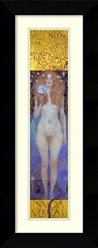 Framed Art Print 'Nuda Veritas 1899' by Gustav Klimt