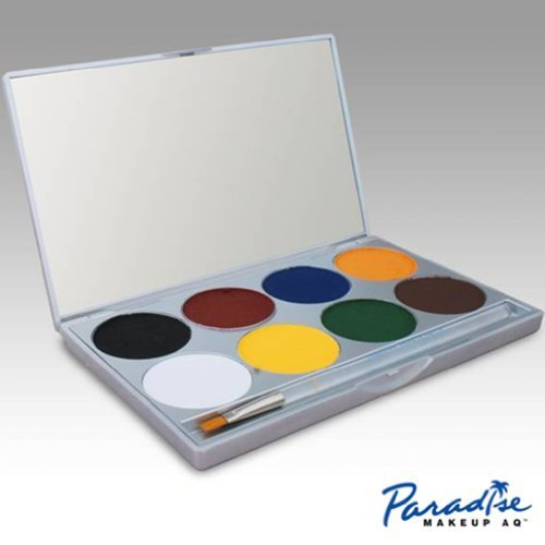 mehron Paradise Makeup AQ - 8 Color Palette - Basic
