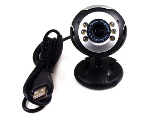 U19-A Night Vision Webcam 12.0MP, Microphone Built In