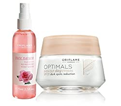 Oriflame Optimal Even Out Day Cream & Oriflame Pure nature rose water