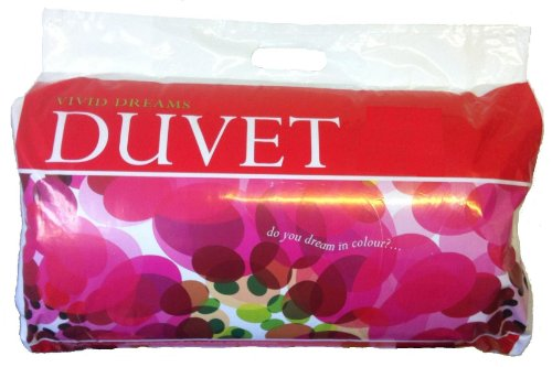 Polycotton Hollowfibre Duvet/Quilt, 10.5 Tog, King