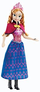 Mattel Disney Princess Y9966 - Die Eiskönigin Musik Prinzessin Anna, Puppe